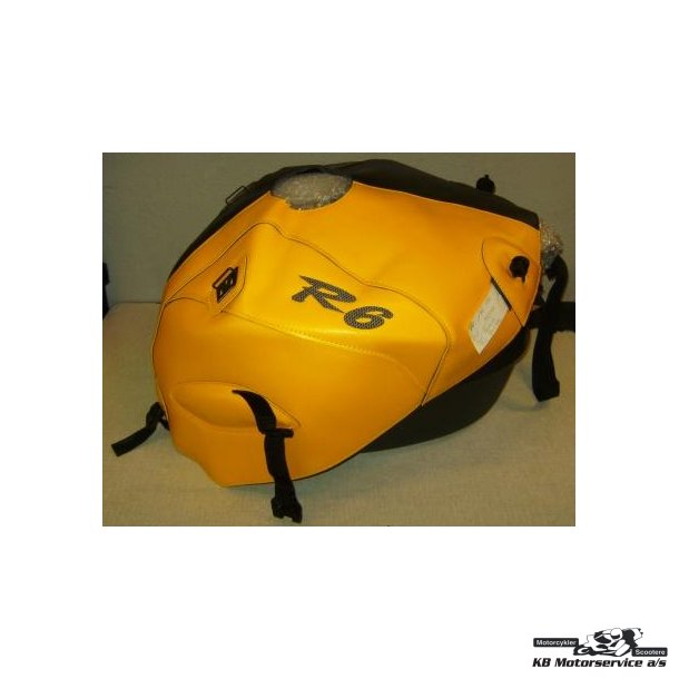Bagster Tank Cover Yamaha R6 2002-2006 Special gul/sort