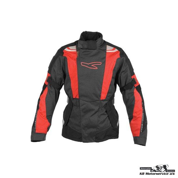 Macna mica jakke sort/rød/grå Small