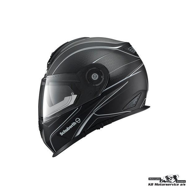 Schuberth S2 Sport Dark Wave White str. 58/59 Large