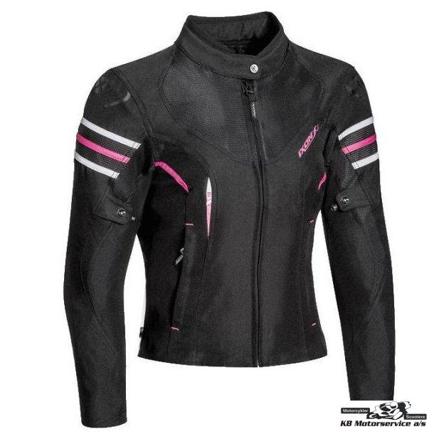 Ixon Ilana Dame jakke sort/pink