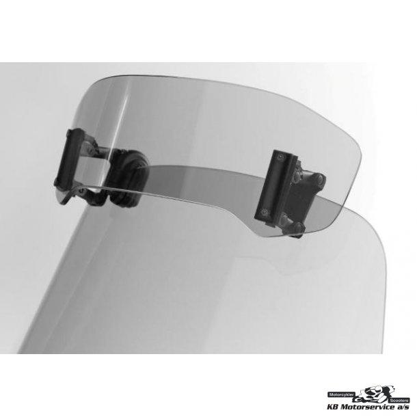 MRA vario spoiler til eksisterende vindskærm. Klar eller røg farvet.  30 x 8,3cm