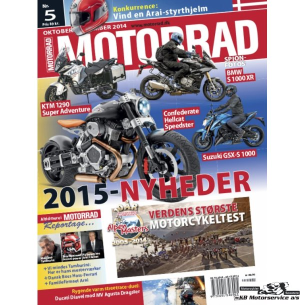 Motorrad nr. 5 2014 Dansk udgave