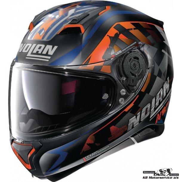 Nolan N87 Venator Flat Black 91