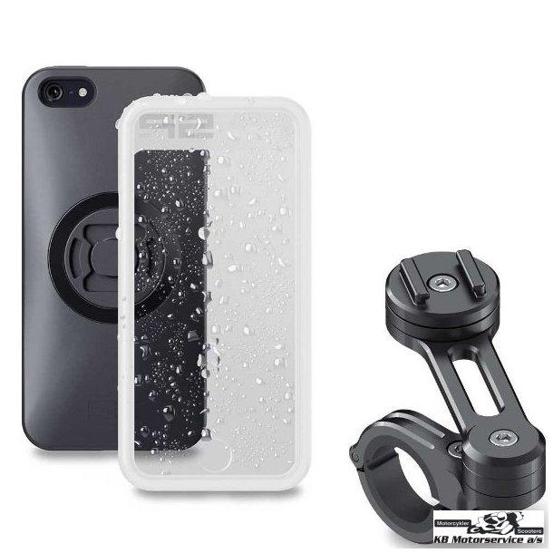 SP Connect IPhone 11 Pro Max/XS Max Cover med beslag til motorcykel