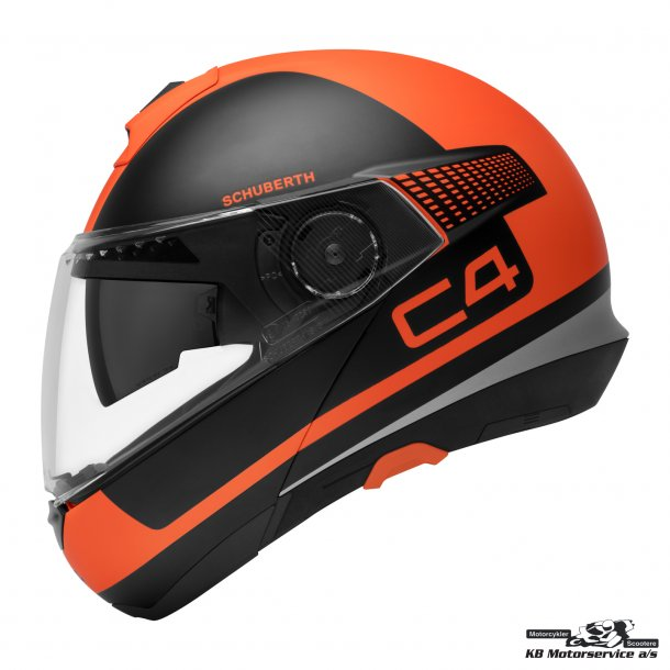 Schuberth C4 Legacy Orange