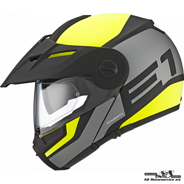 Schuberth E1 Guardian Yellow XS