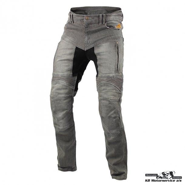Trilobite Parado Jeans DuPont™ Kevlar® aramid. Light Grey Dame