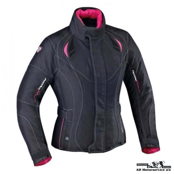 Ixon Alhena Dame jakke sort/pink