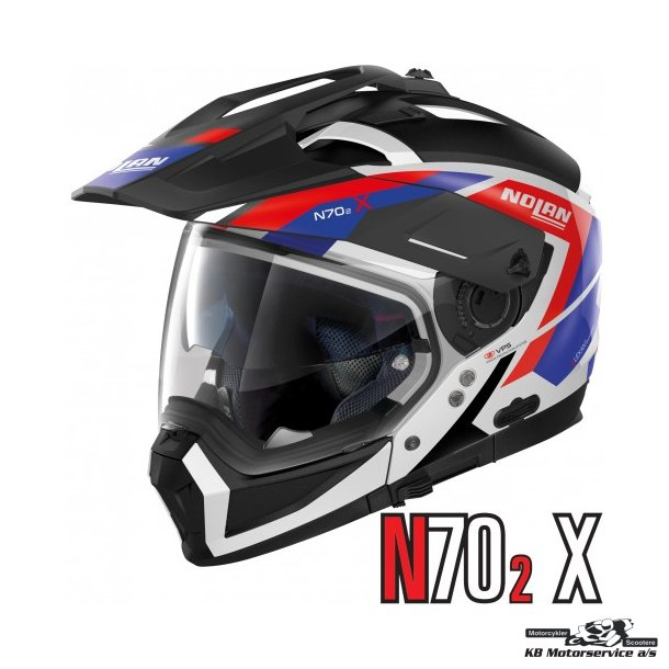 Nolan N70-2X Grande Alpes Metal White 26